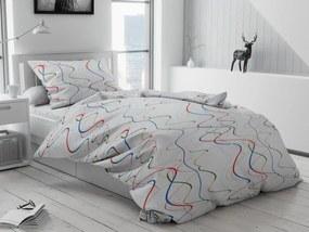 Bavlnené obliečky Color biele gombíky Rozmer obliečok: 70 x 90 cm, 140 x 200 cm
