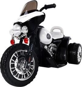 Dětská elektrická motorka Harley, černá