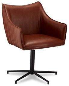 Dizajnová stolička Abanito, svetlohnedá