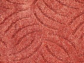 Metrážový koberec Tango 881 Červený - Rozměr na míru bez obšití cm