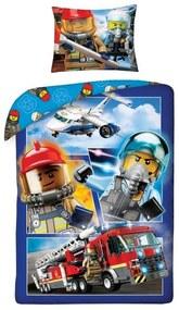 HALANTEX Obliečky LEGO City Bavlna 140/200, 70/90 cm