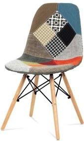 Sconto Jedálenská stolička ISABELLA farebný patchwork