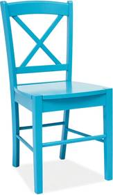 SIGNAL CD-56 jedálenská stolička modrá
