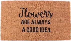 La finesse Kokosová rohožka Flowers