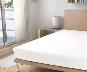 Polášek nepriepustná froté plachta biela 90/200 cm