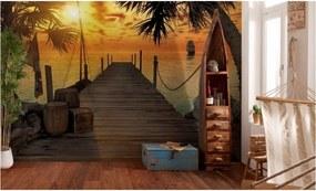 Komar Fototapeta - Treasure Island