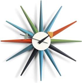 Vitra Hodiny Sunburst Clock, multicolor