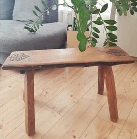 Vidiecka stolička z vínového suda