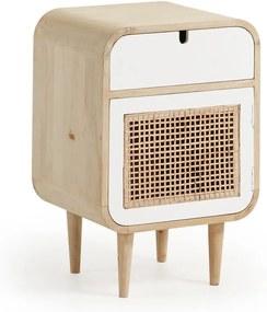 Nočný stolík z mangového dreva La Forma Gerald, 40 × 30 cm
