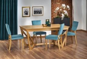 HALMAR Wenanty 160/240 rozkladací jedálenský stôl dub medový