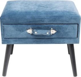 KARE DESIGN Stolička Drawer modrá