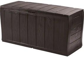 KETER SHERWOOD 270L záhradný úložný box 117 x 45 x 57,5 cm, hnedá 17198596