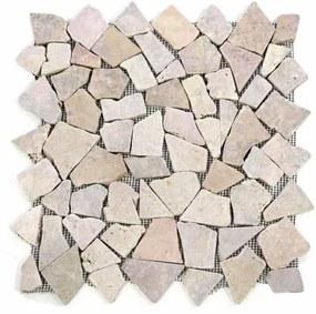 Mramorová mozaika Garth- ružová obklad 1 m2