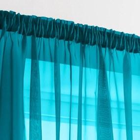 Nariasený záves, modrý Barva: modrá, Velikost: 140x170cm