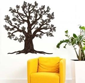 Drevený strom života na stenu - Malkuth