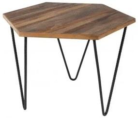 COR BLACK konferenčný stolík