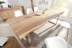 810f222f5e32 Drevený jedálenský stôl Mammut 100 x 300 cm – 60 mm »