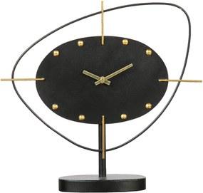 BEPUREHOME Kovové stolné hodiny One O'clock