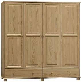 AMI nábytok Skříň č.5 dub šířka 160 cm
