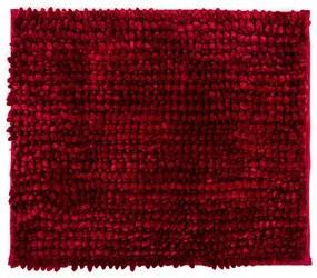 Bo-ma Kúpeľňová predložka Ella micro červená, 40 x 50 cm