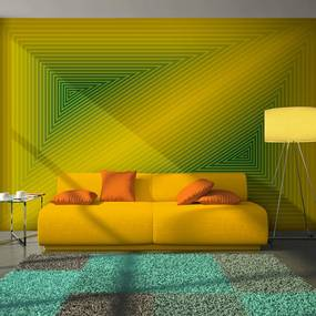 Fototapeta - triangle - 3D 400x309