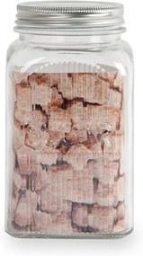 Sklenená dóza na cukor s antikoro vekom Sabichi, 1,2 l