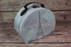 """Ozdobný kufrík """"PARIS"""" (21x10,5x17 cm)"""