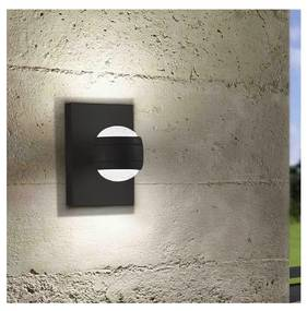 Eglo Eglo 78593 - LED Vonkajšie nástenné svietidlo SESIMBA 2xLED/3,7W/230V IP44 EG78593