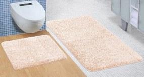 Brotex Kúpeľňová sada predložiek Micro 60x100 + 60x50cm béžová