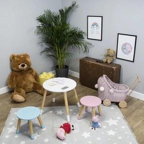 Ourbaby detský stôl okrúhly s stoličkami