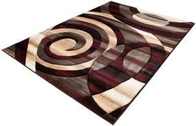 Kusový koberec Tras čierny 60x100, Velikosti 60x100cm