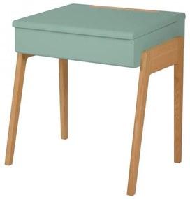Detský pracovný stôl a stolička JUNGLE BY JUNGLE - zelená farba