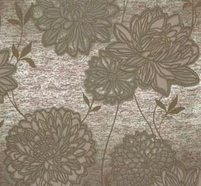 Vliesová tapeta, kvety zelené, Estelle 55740, MARBURG, rozmer 10,05 m x 0,53 m