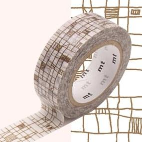 Washi páska MT Masking Tape Valerie, návin10m