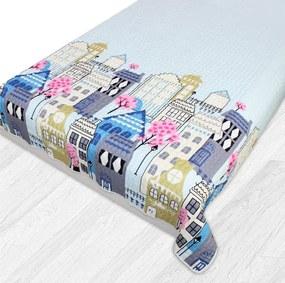 Domarex Prehoz na posteľ AMSTERDAM 200 x 220 cm Mesto Modrá