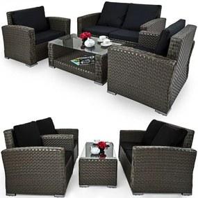 Luxury set 2 + 1 + 1 - šedá - InternetovaZahrada