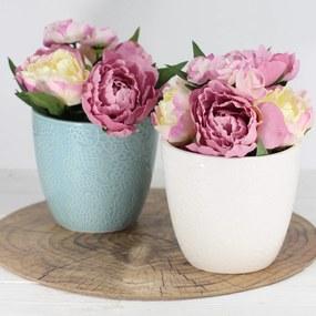 Keramický kvetináč 15 cm - väčší