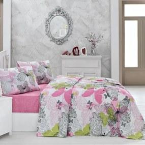 Ľahká bavlnená prikrývka cez posteľ Belinda, 200 × 230 cm