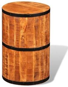 Barová stolička, hrubé mangovníkové drevo
