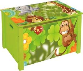 Detský úložný box JUNGLE