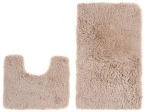 Sada kúpeľňových koberčekov SILK ARTS-72 2PC béžový