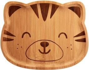 Detský bambusový tanier Sass & Belle Farmyard Friends Tiger