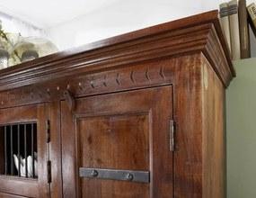 Bighome - CAMBRIDGE Komoda 85x130 cm, akácia