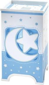 Dalber 63230T Detské Svietidlá MOON LIGHT modrý plast 50lm 3000K