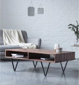Konferenčný stolík Guru 110x45x60 indický masív palisander, Only stain