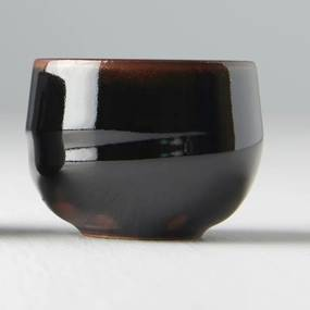 MIJ Miska na saké Sake Cup čierno-hnedá 80 ml