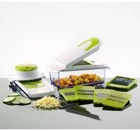 Enrico Univerzálny 7-dielny kuchynský krájač, zelený