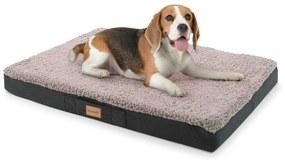 Balu, pelech pre psa, vankúš pre psa, možnosť prania, ortopedický, protišmykový, priedušná pamäťová pena, veľkosť M (79 × 8 × 60 cm)