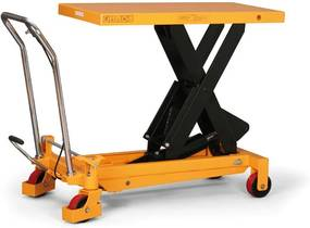 Hydraulický zdvíhací stôl BS, nosnosť 150 kg, zdvih 1000 mm