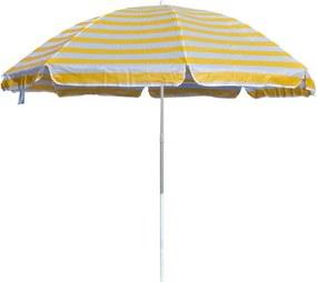 Plážový slnečník žltá